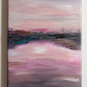 Obraz malowany farbami olejnymi na prawdziwym płótnie
